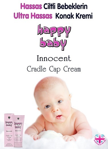 Happy baby Innocent Yeni Doğan Konak Kremi 50 Ml Renksiz